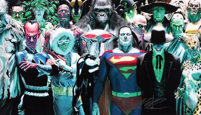 DC Comics villains Alex Ross