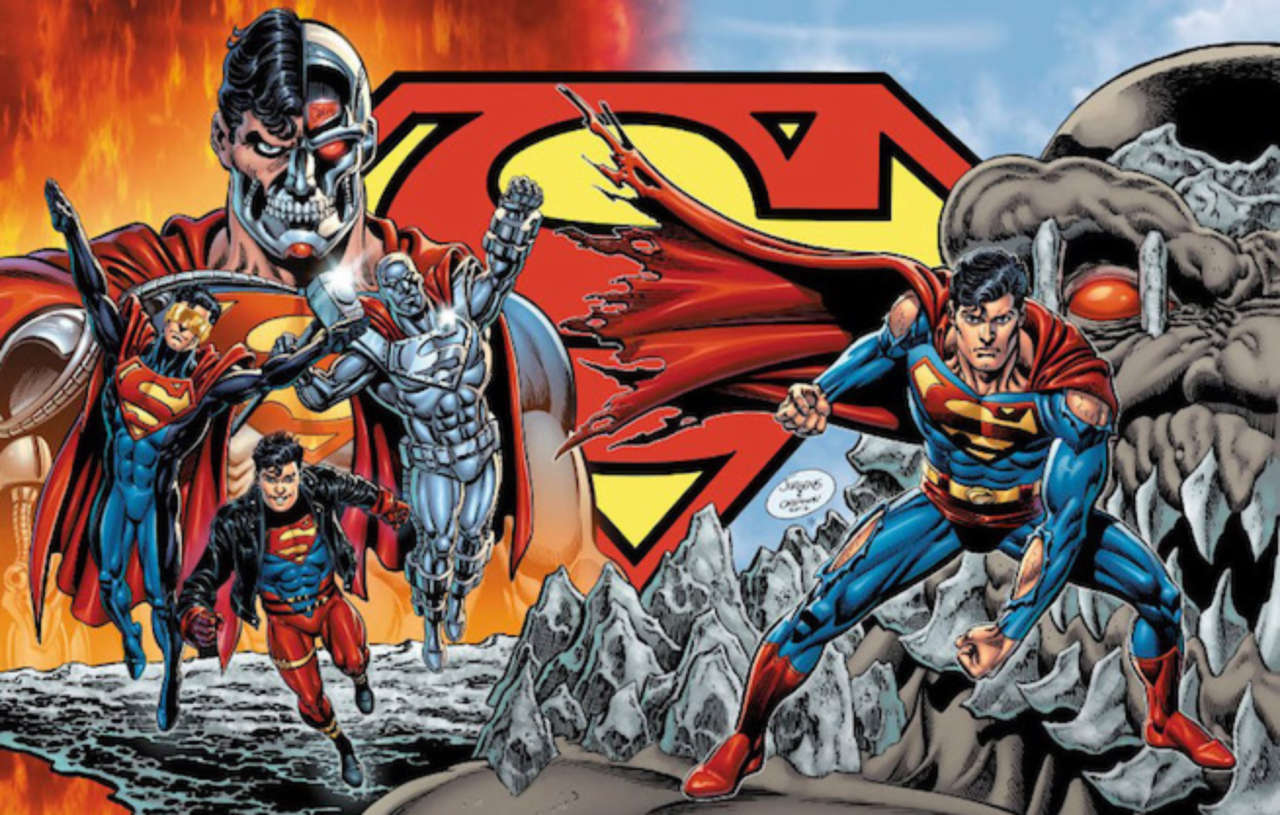 Image result for reign of the supermen