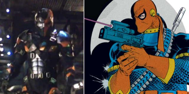 Deathstroke Comic Book vs DCEU version