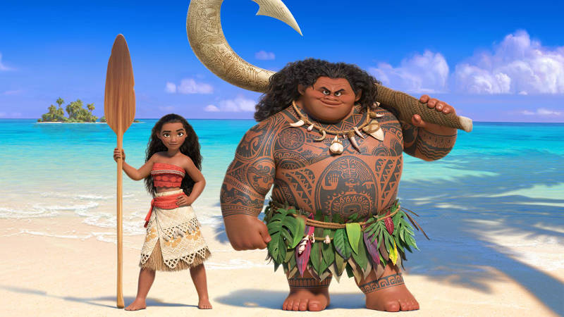 Disney's Moana Movie Preview