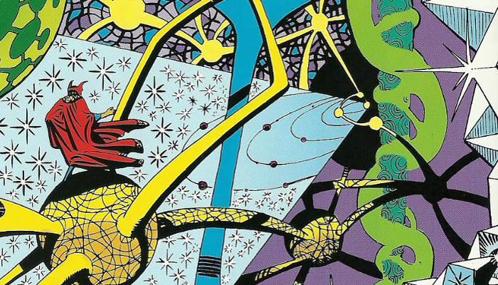 Doctor Strange Mystic Realm by Steve Ditko