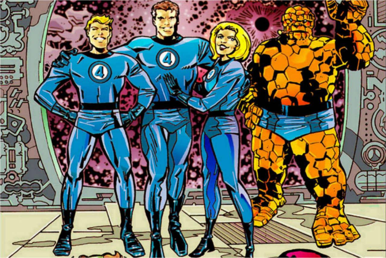 fantastic four comic ile ilgili görsel sonucu