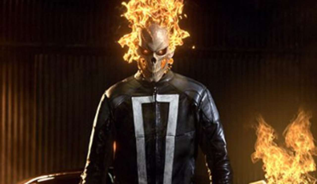 Agents Of Shield Ghost Rider Video And Images From Season 4 Premiere