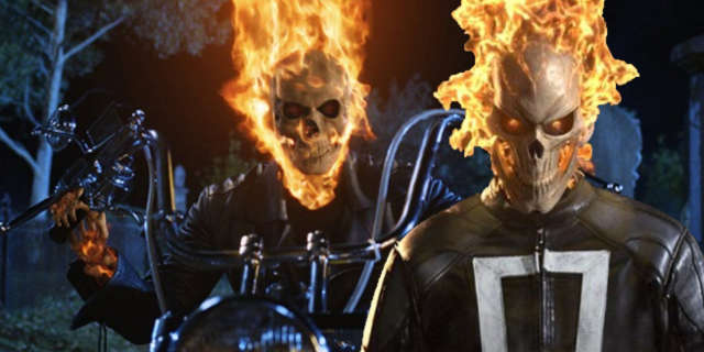ghost rider agents of shield nic cage