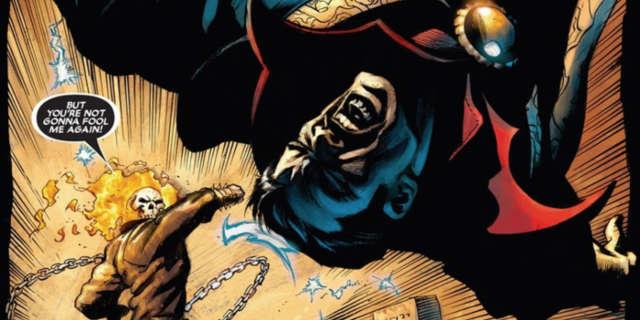 Ghost Rider vs Doctor Strange