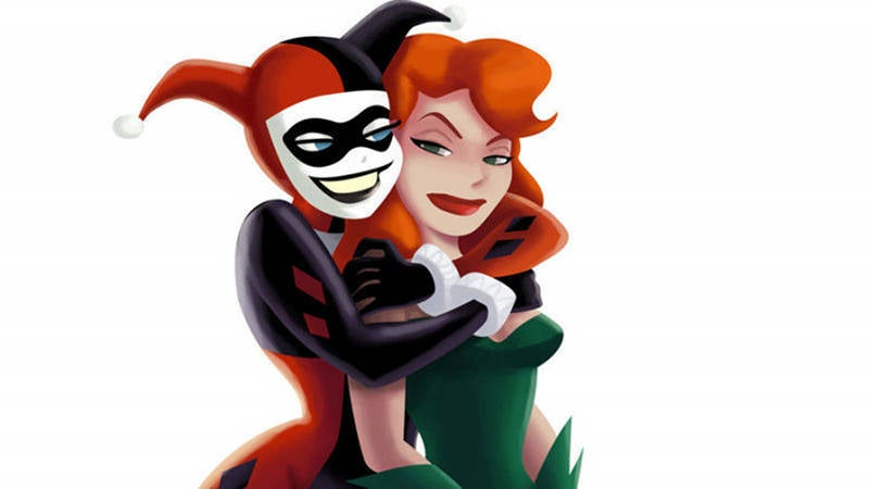 Harley Quinn and Poison Ivy Lovers Relationship