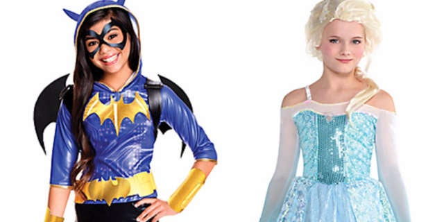 Hero Princess Costumes Header