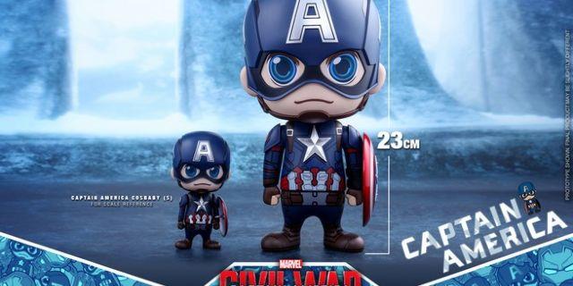 Hot Toys - CA CW - Captain America Cosbaby Bobble-Head_PR7