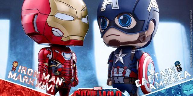 Hot Toys - CA CW - Captain America & Iron Man Mark XLVI Cosbaby Bobble-Head_PR2