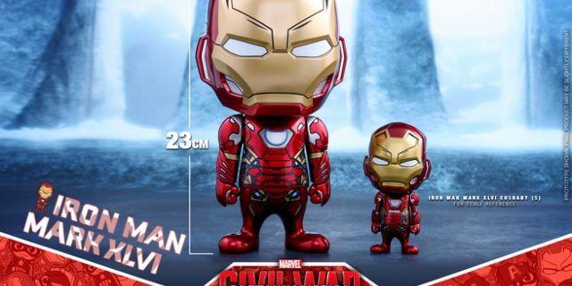 Hot Toys - CA CW - Iron Man Mark XLVI Cosbaby Bobble-Head_PR9