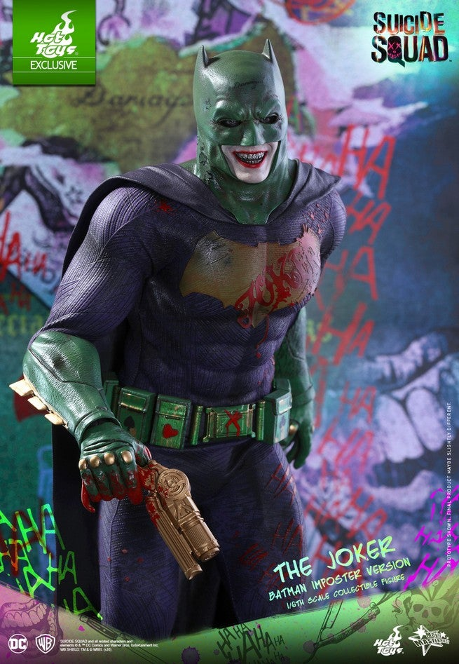 Hot Toys - SS - Joker (Batman Imposter Version) collectible figure_PR10