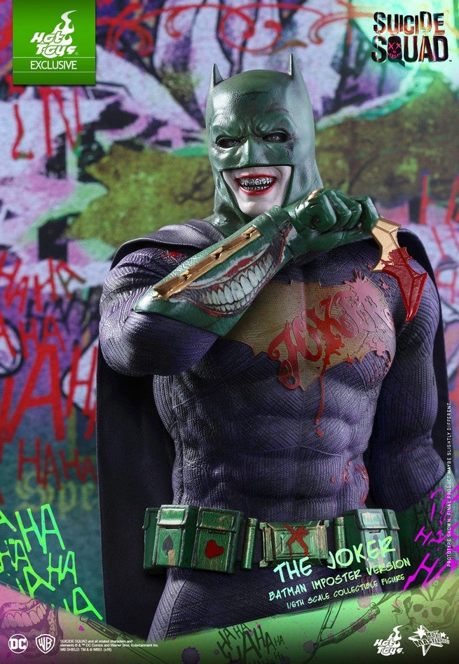 Hot Toys - SS - Joker (Batman Imposter Version) collectible figure_PR11