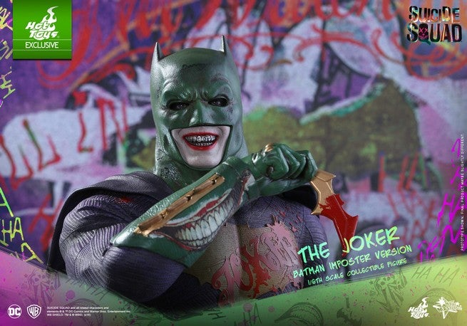 Hot Toys - SS - Joker (Batman Imposter Version) collectible figure_PR13