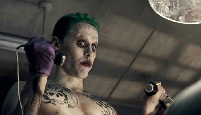 Suicide Squad Joker Blu-ray Extra Shows Jared Leto's Process