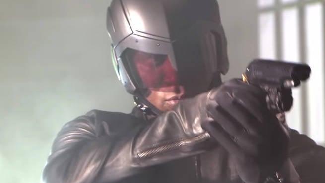 John Diggle Helmet 1