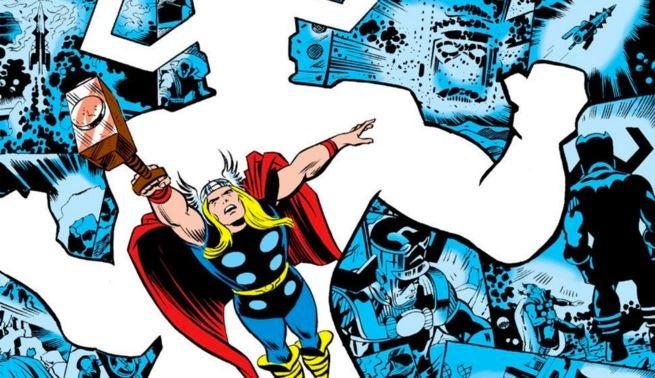 Kirby - Thor and Galactus