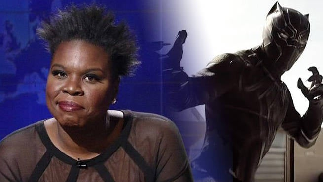 Leslie Jones Black Panther