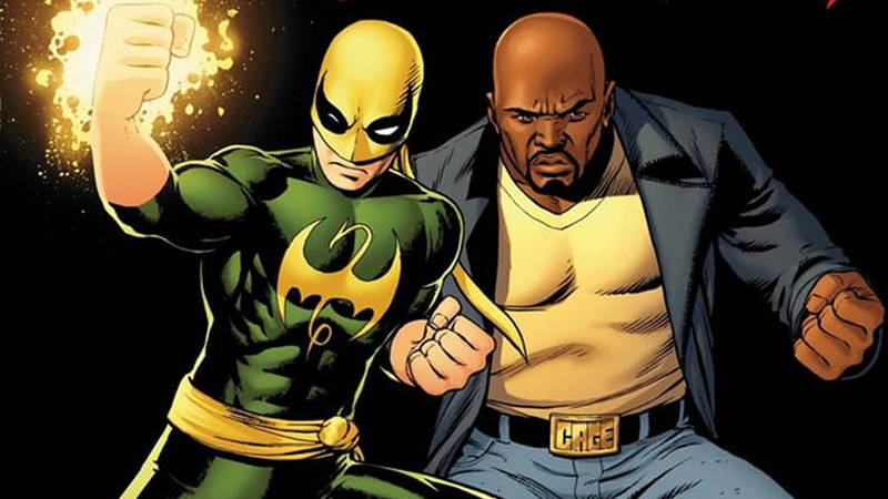 Luke Cage and Iron Fist Best Comic Book Friends