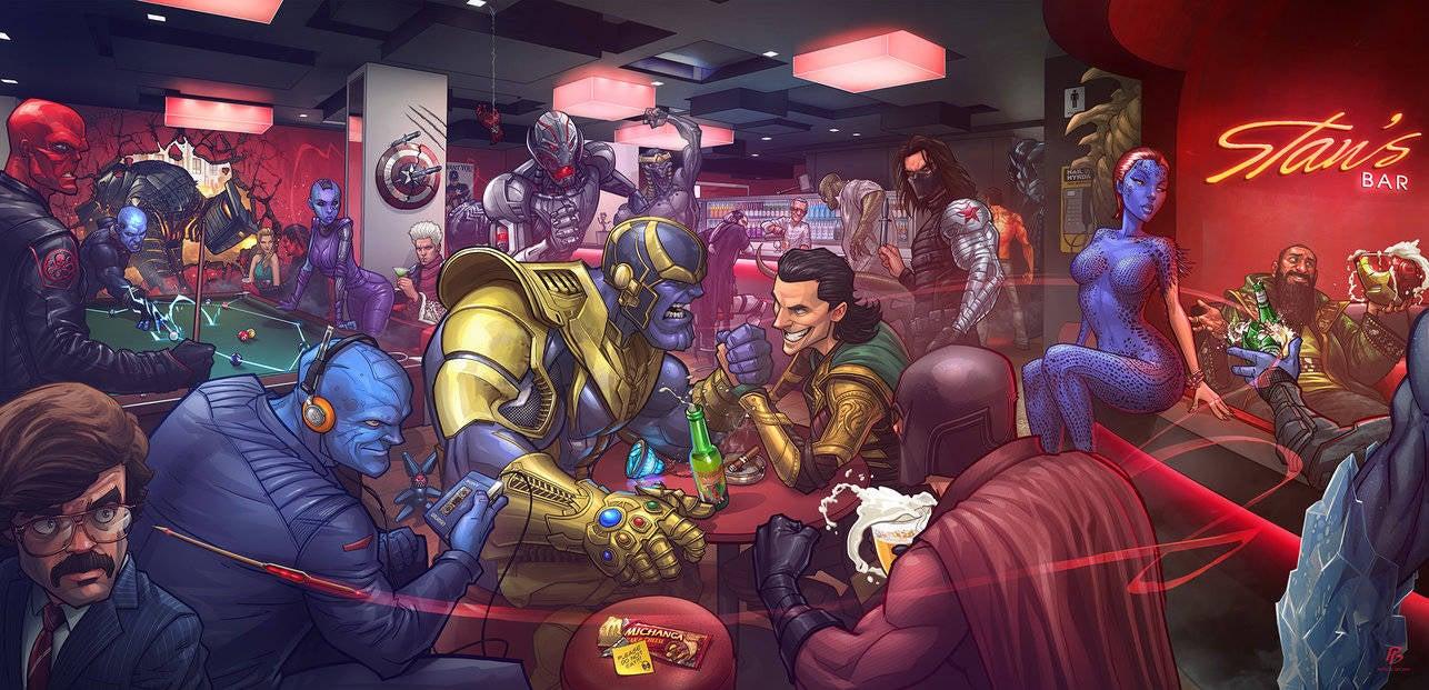 marvel villains by patrickbrown-d8i8p2o