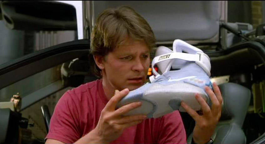 New Nike Back To The Future Power Lacing Shoes Revealed
