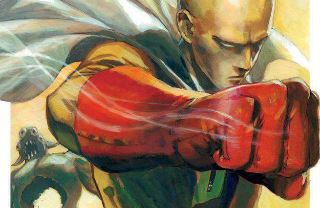 One-Punch Man Cover