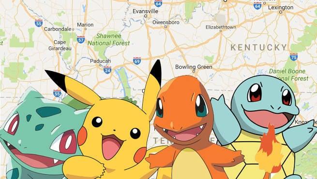 Pokemon Google Maps