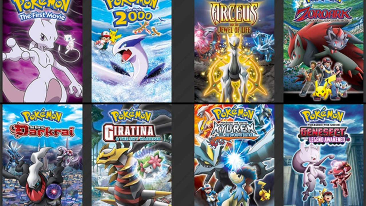 ranking the top six pokemon movies