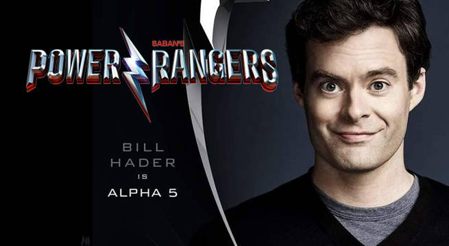 power rangers bill hader