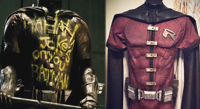 robin batman v superman cosplay