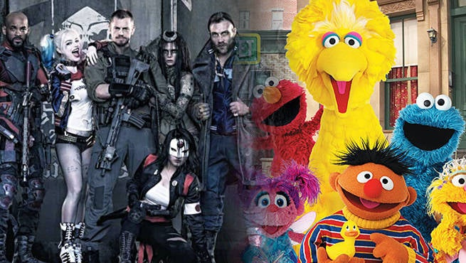 The Sesame Street Suicide Squad