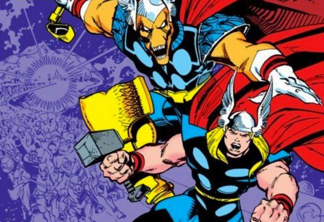 Simonson - Thor and Beta Ray Bill
