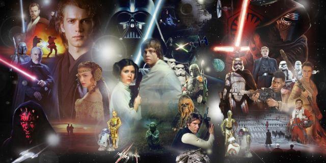 Star Wars Saga Episodes I - VII