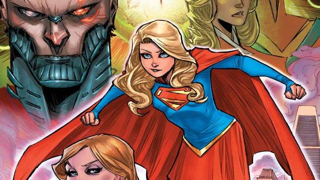 Supergirl 1 Cover Header