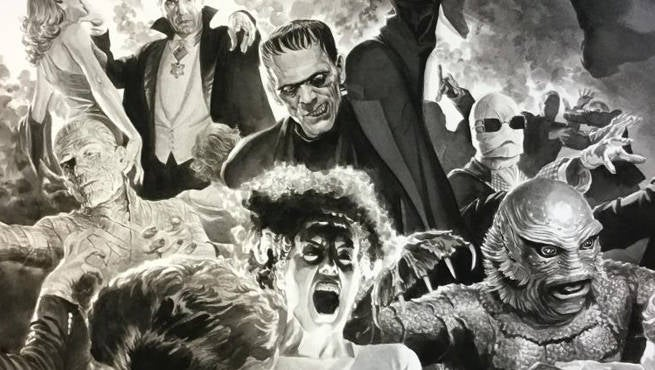 Alex Ross Universal Monsters