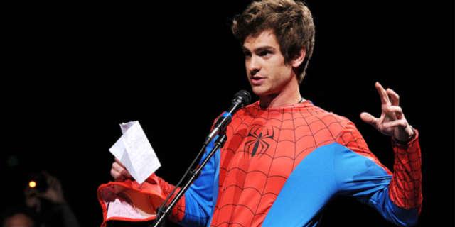 Andrew Garfield Jimmy Kimmel Spider-Man 2016