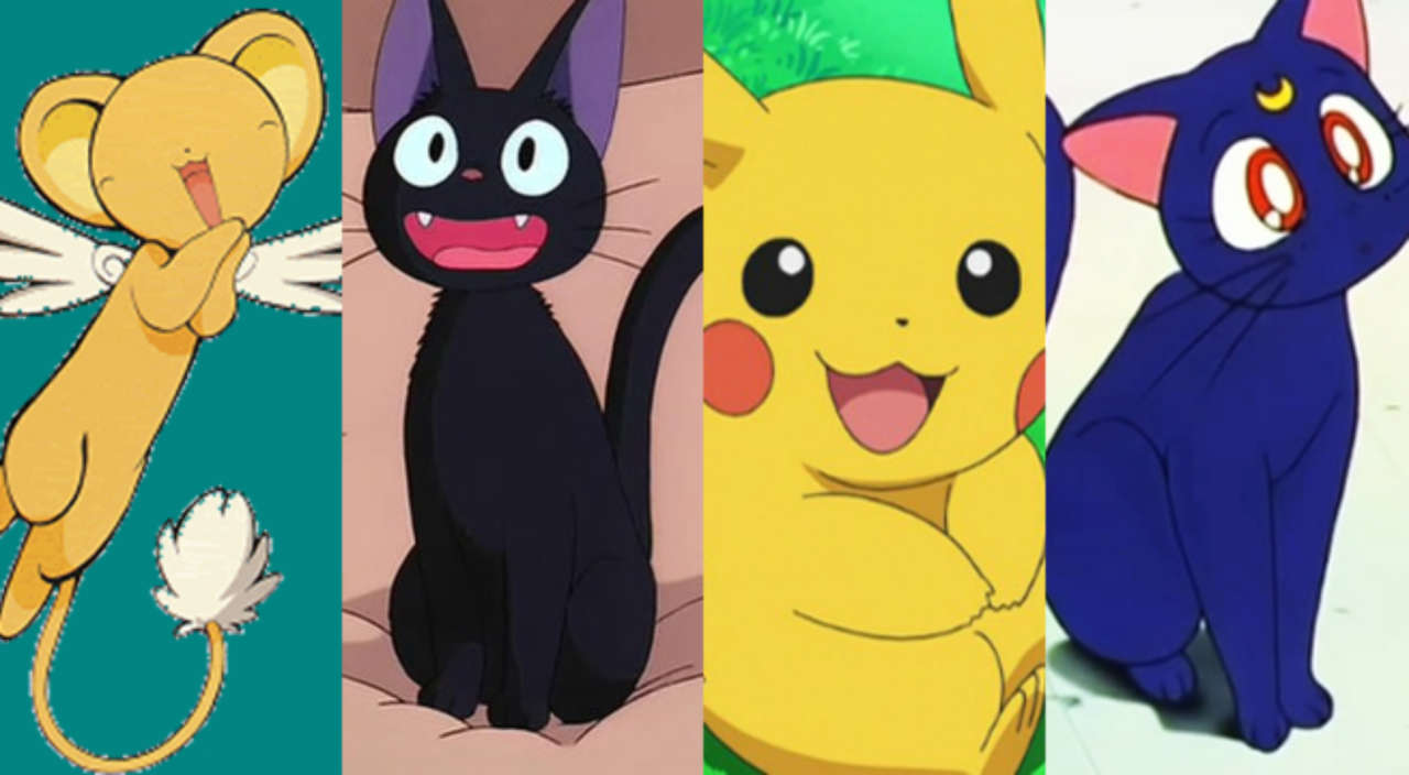 8 Adorable Anime Sidekicks