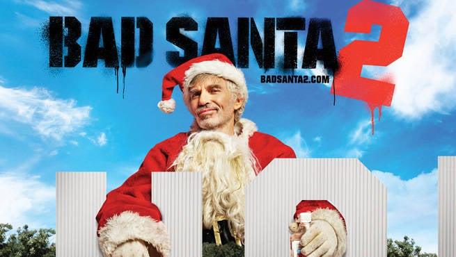 EXCLUSIVE: Bad Santa 2 Outdoor Art Revealed