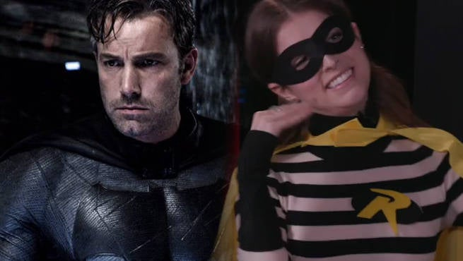 Ben Affleck Not Sure If Batman Movie Will Have Robin, Anna Kendrick Pitches For Role