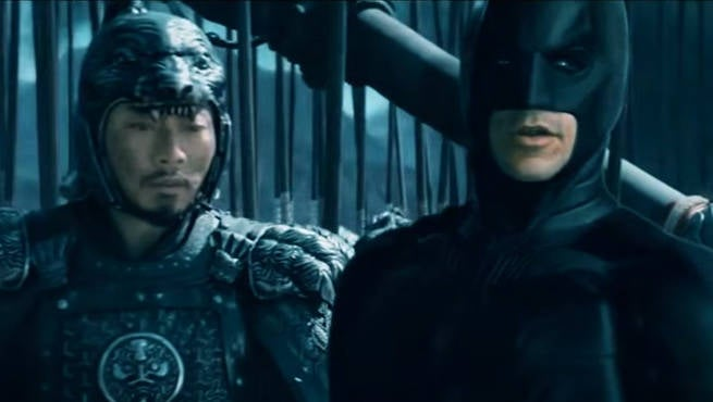 Fan Trailer Friday: Batman The Great Wall Trailer Mashup