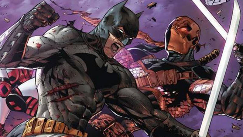 Batman vs Deathstroke The Batman movie