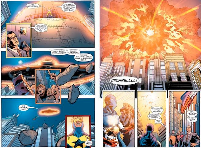Booster Gold's Death