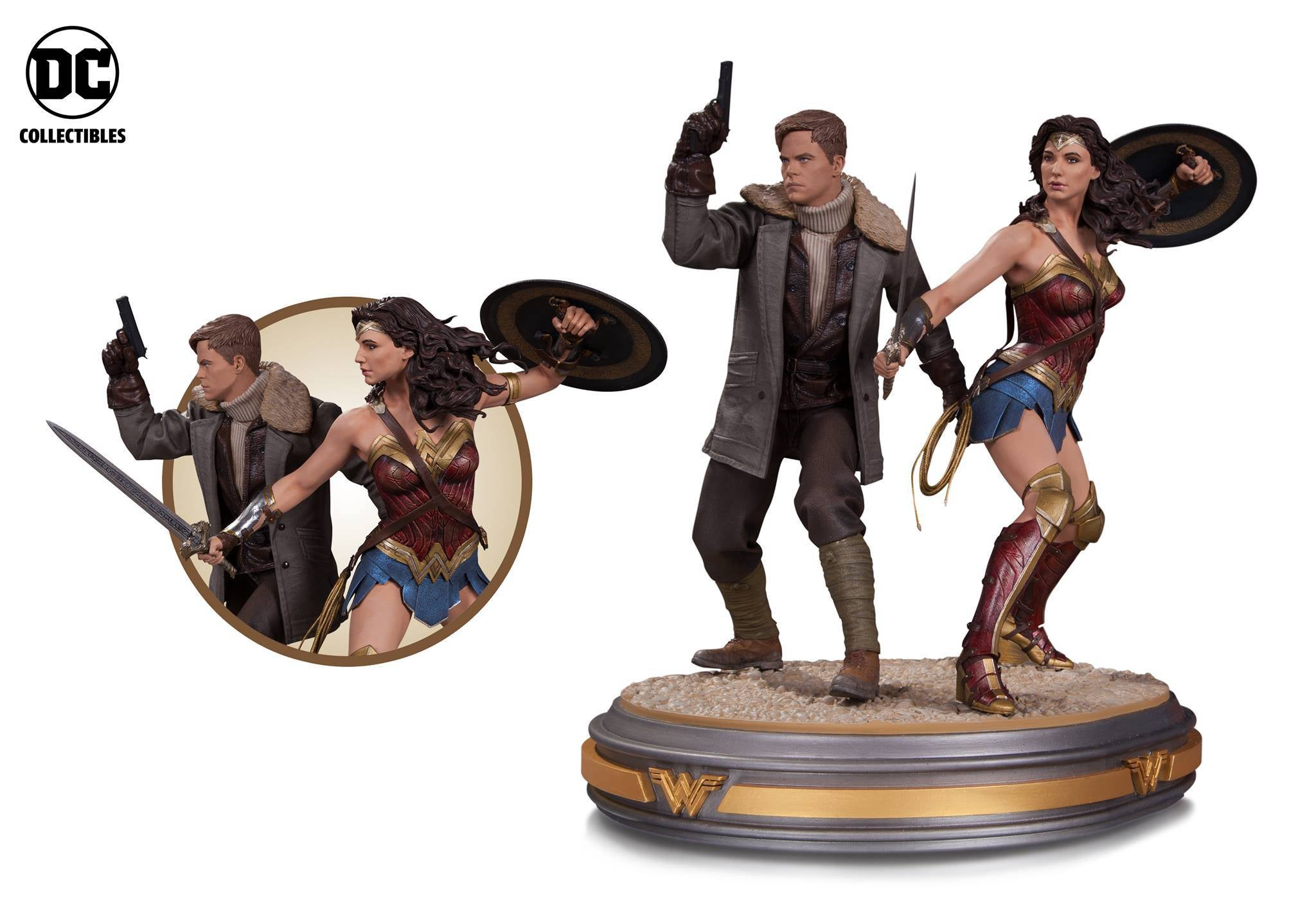 DC Collectibles Wonder Woman Duo Statue