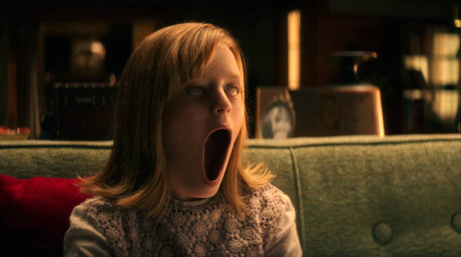 Doris (LuLu Wilson) in Ouija Origin of Evil