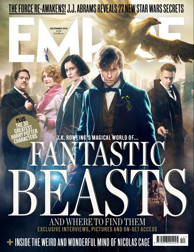 Fantastic Beasts Human Characters Empire Cover