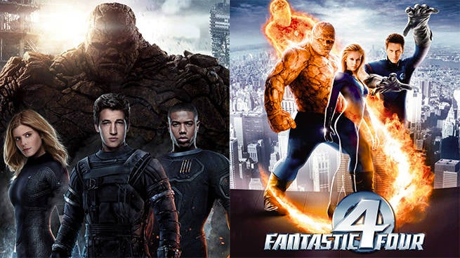 fantastic four live action