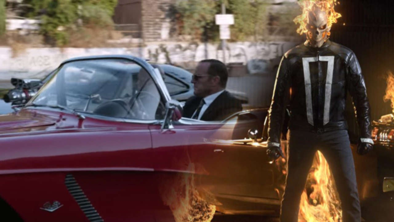 Agents Of SHIELD: Behind The Scenes Of Ghost Rider Vs  Lola