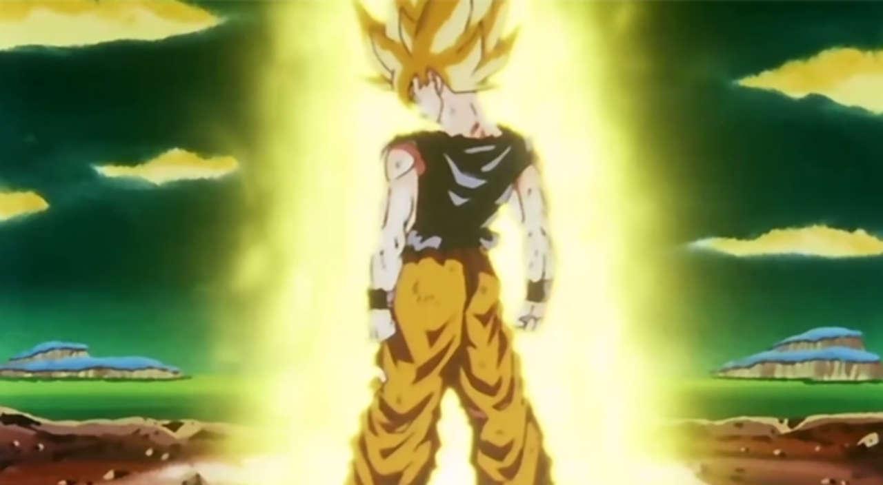 This Dragon Ball Z Cosplay Perfectly Nails Goku's Super Saiyan Hair