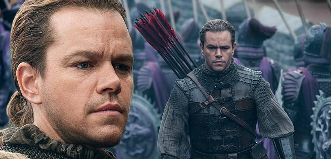 Matt Damon Gives a Movie Synopsis of The Great Wall