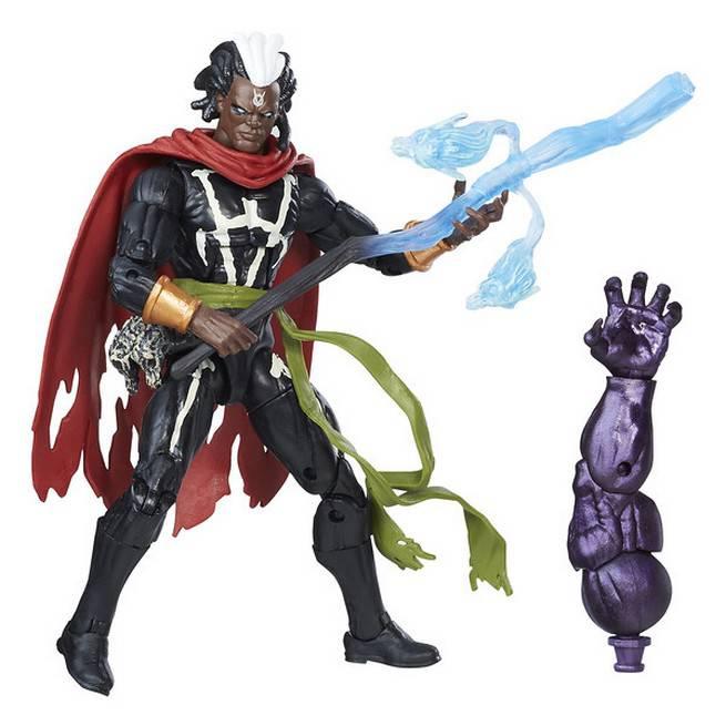 Hasbro Marvel Doctor Strange Legends Series Masters of Magic 6 inch Action Figure - Marvel's Brother Voodoo