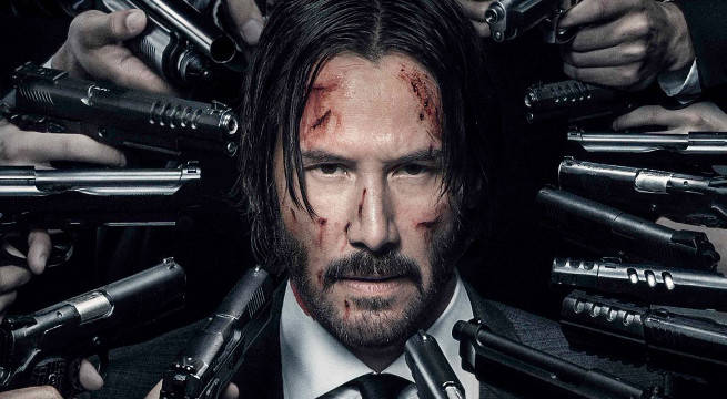 Keanu Reeves Wields Knife in New 'John Wick: Chapter 3' Set Photos